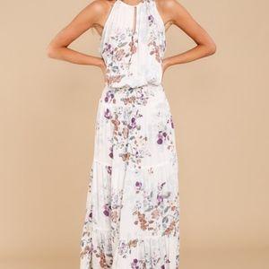 NWT Lovestitch | Take A Minute Floral Maxi Dress